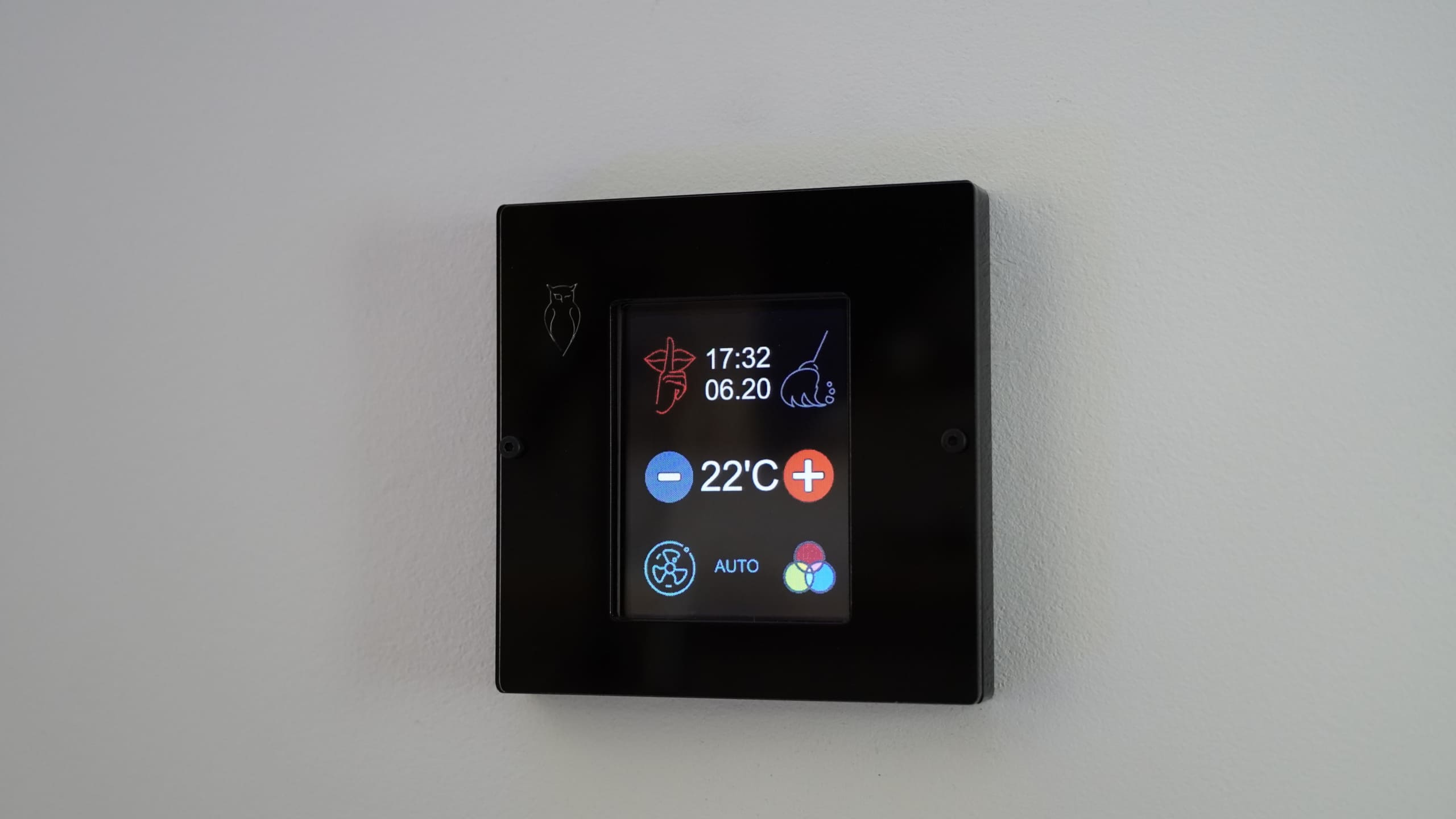 panel regulacji temperatury